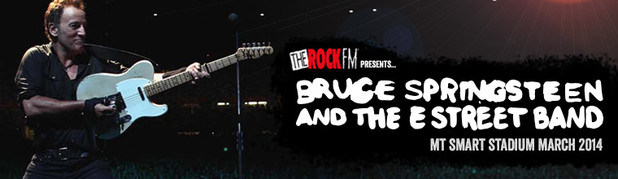 THE ROCK FM - The Rock is stoked to present 'The Boss' Bruce Springsteen and the E Street Band live at Mt Smart Stadium in March 2014!