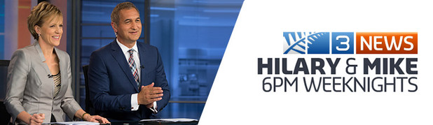 3 NEWS - 3 News with Hilary and Mike. 6pm weekdays on TV3. Click to catch up On Demand.