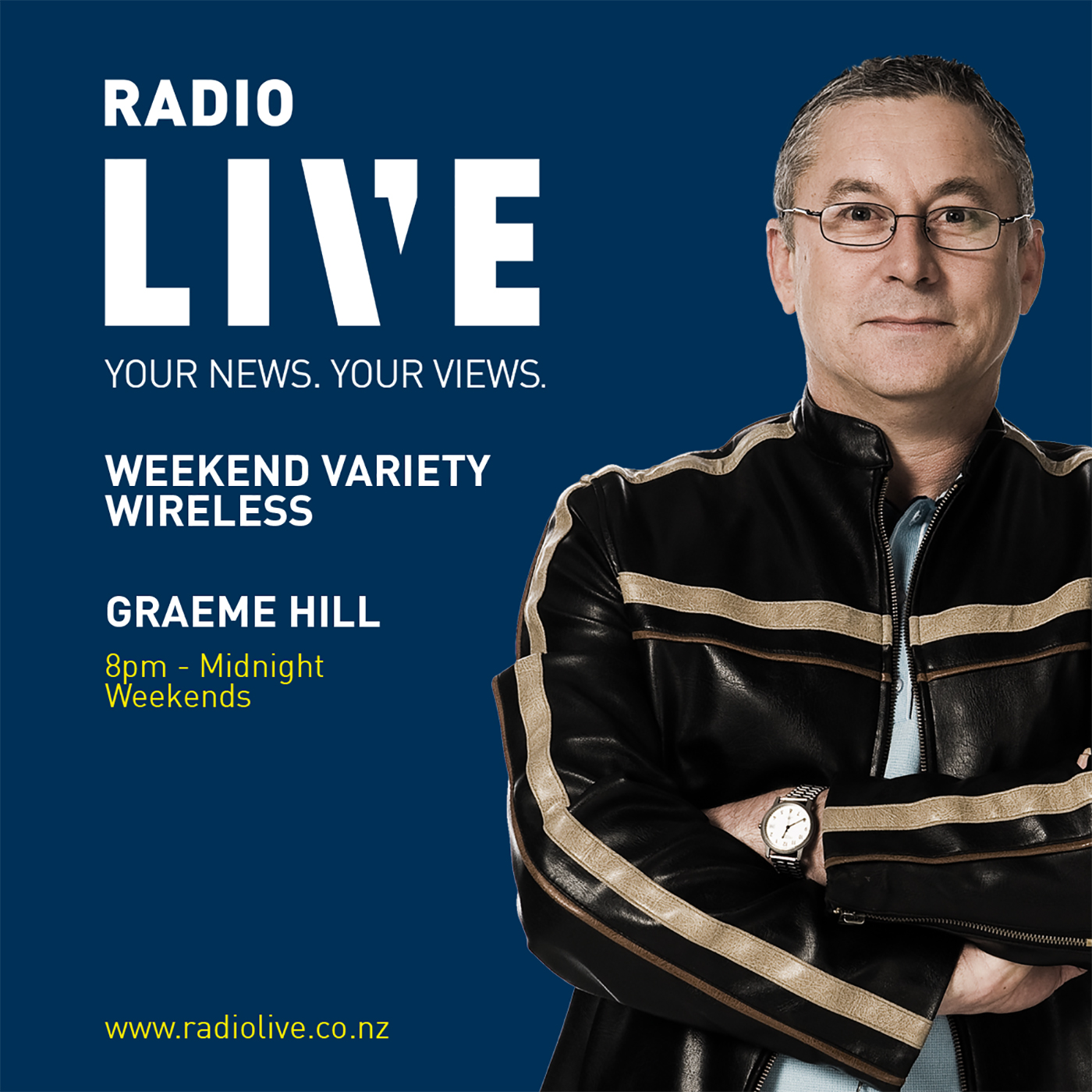 Weekend Variety Wireless with Graeme Hill on RadioLIVE